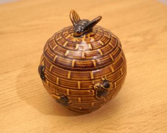 Ceramic Honey pot / jar / canister