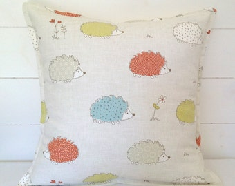 Hedgehog Cushion Cover, Hedgehog Pillow Case
