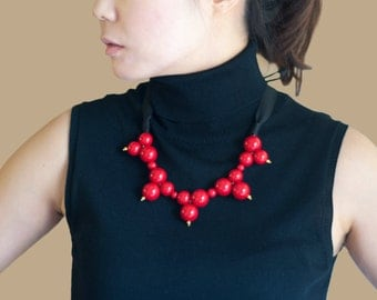 Handmade Necklace for Christmas Statement Bib Necklace