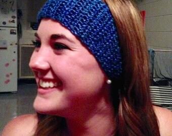 Skinny Crochet Ear Warmer Headband. Made to Order.