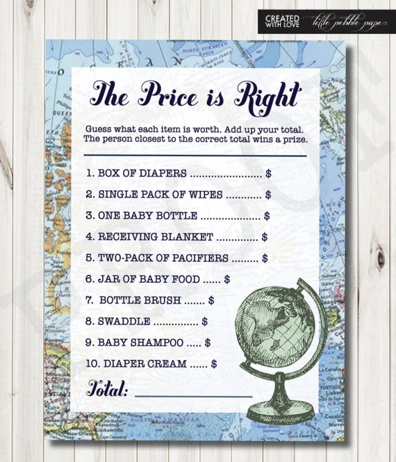 the price is right baby shower game baby shower game welcome to the