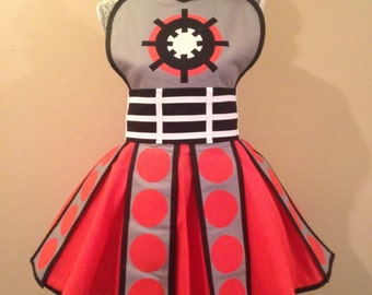 Exterminate - Costume apron - Cosplay Apron
