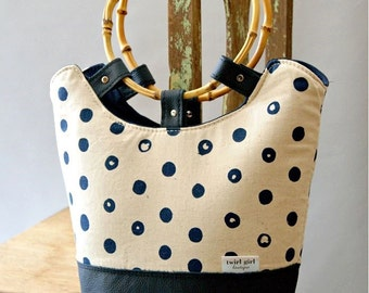 The Tilly Day Tote Bag PDF Sewing Pattern