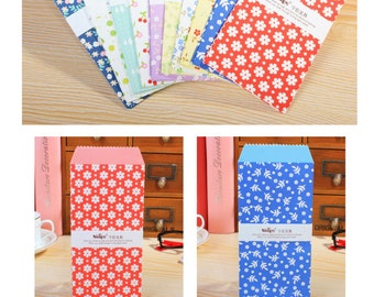 Colourful and Cute Envelopes Pack of 5 Floral