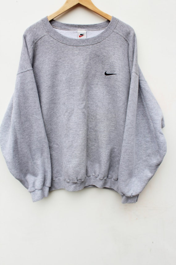 90er jahre nike pullover sweatshirt maxi xl crewneck. Black Bedroom Furniture Sets. Home Design Ideas