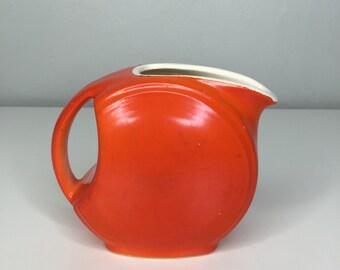 vintage Cronin Sevilla pottery miniature disk pitcher