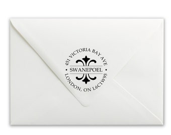 Custom Self-Inking Stamp - Personalized Stamp - Name Stamp - Address Stamp - Swanepoel Address Stamp