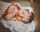 Newborn photography Newborn head wreath flower head wreath photo prop child wreath newborn crown baby photo baby flower crown