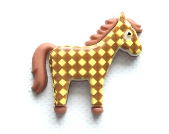Horse Pin, Lapel Pin, Tie Tack, Equine Lover