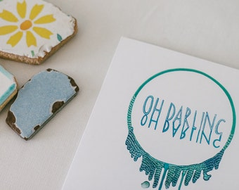 Oh Darling Card