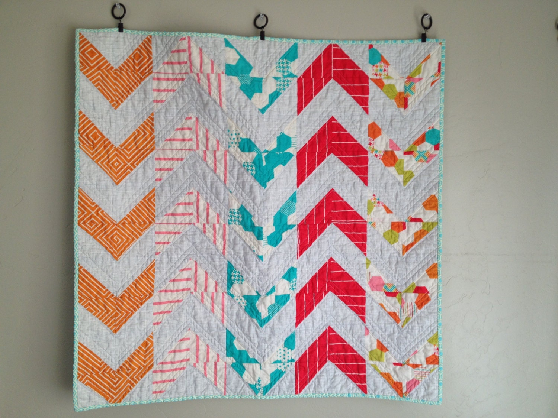 Modern Nursery Quilt Patterns : Arrow/sewing pattern/quilt pattern pdf/patterns/modern quilt