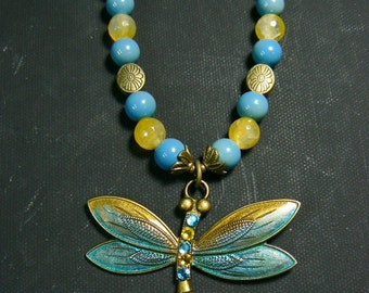 Blue Sunshine Dragonfly