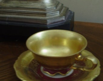 Waldershof Bavaria Germany Demitasse Cup and Saucer