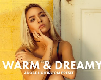 Adobe Preset Warm and Dreamy Lightroom Preset