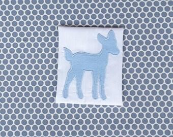 Applique Machine Embroidery Design Baby Deer