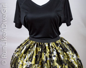 Camouflage Running Party Tutu by RunLikeADivaGirl