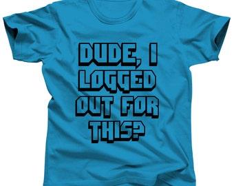 Gamer Shirt Gamer Party Gamer Girl Gamer Gift Video Game Shirt Gaming Shirt Geek Shirt Funny Tshirt Gamer Tshirt Geek Gift Funny T-Shirt