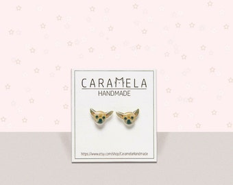 Chihuahua dog Stud Earrings Animal stud Animals earring Dog earrings Custom pet stud earrings Gift idea