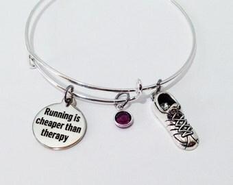 Christmas Gifts for Runners, Runner Gift, Runner Jewelry, Runner Girl, Runner Bracelet, Running Bracelet, Running Gifts, Running Jewelry