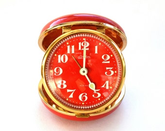 Linden Travel Alarm Clock ~ circa 1970s