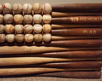 Personalized Baseball Bat Flag