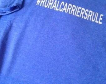 Rural Carrier shirts
