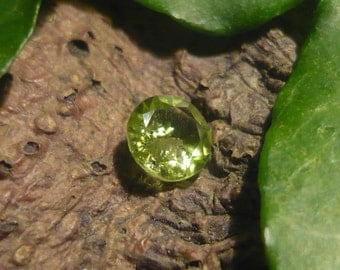 Peridot, 0,95ct Brilliant Cut
