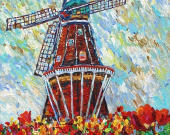Windmill Island, Holland MI, Tulip Festival, Dutch Heritage, Spring Flowers