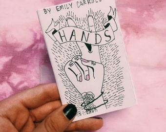 Mini Art Zine- HANDS