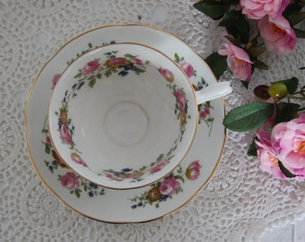 Belmont Vintage Teacup and Saucer