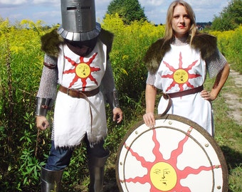 Sunlight armor (cosplay/larp)
