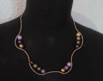 Very romantic charm 45 cm necklace