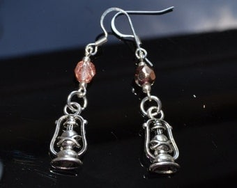 Beaded Lantern Earrings