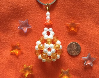 Orange Sherbert Keychain