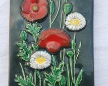 SALE: JIE Gantofta Ceramic Vintage Swedish Plaque - Design by Aimo
