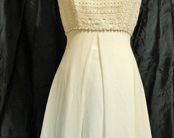 Beach or Casual Wedding Gown