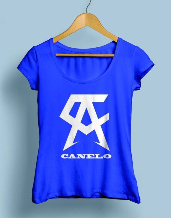 Saul Canelo Alvarez  Women's Boxing Shirts Crew and Vneck Available S-XXL Order By September 10th for Guaranteed Delivery By Fight Night