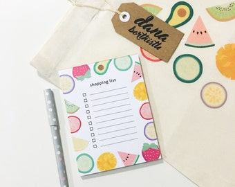 Fruity Shopping List