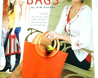 2010 Annie's Attic In Style Bags Handbags Purses Crochet Pattern Book
