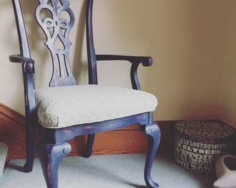 Queen Anne Legged Hall/Bedroom Chair
