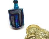 Blue Dreidel - Hanukkah G...