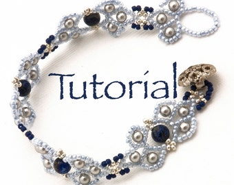 Seed Bead, Pearl and Gemstone Bracelet Tutorial Ashia