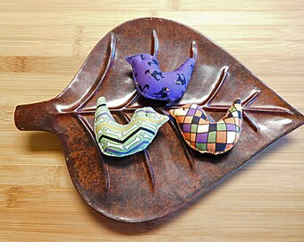 Halloween Birds Ornaments Primitive Bowl Fillers Holiday Decorations