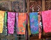 Gypsy Caravan  Exotic Garden Flag Garland Hippie  Boho Decor