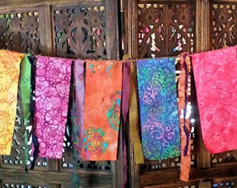 Gypsy Caravan  Exotic Garden Flag Garland Hippie  Boho Decor