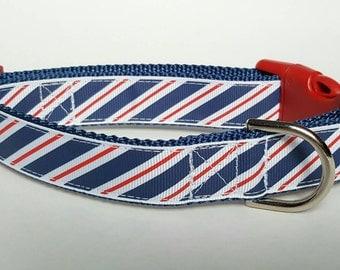 American Tie Dog Collar / Patriotic Dog Collar