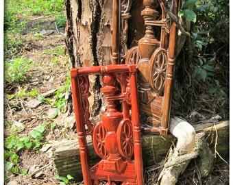 Walnut Brown coffee grinder plaque