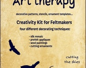 Art Therapy No.2 / Cutting the Skies / Creativity Kit for Feltmakers