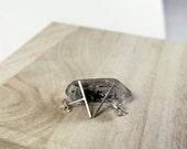Minimal Sterling Silver Line Earrings