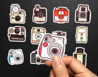 Mini Camera Sticker Pack